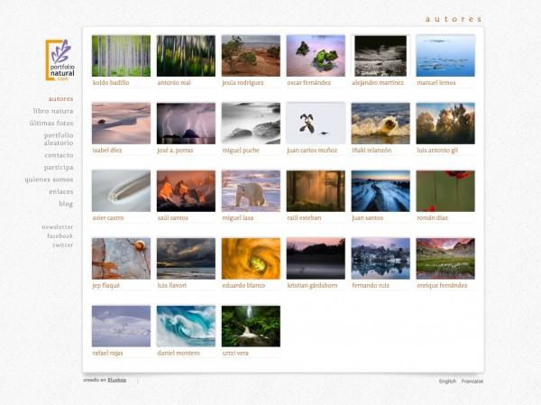 Nueva web de Portfolio Natural