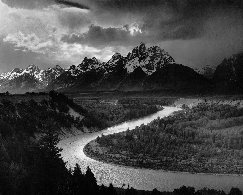 Fotografía artística - histórica - periodística  - Página 10 Adams_The_Tetons_and_the_Snake_River